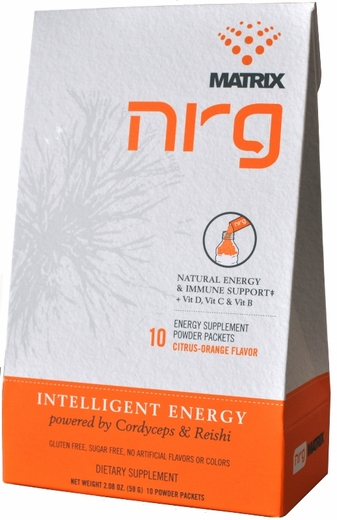 NRG Mushroom Matrix Supplement - 10 pk