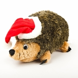 Plush Large Christmas Hedgehog Dog Toy