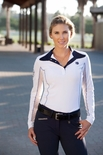 Romfh Competitor LS Show Shirt with Chill-Factor