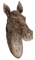 Rustic Horse Bust Wall Decor