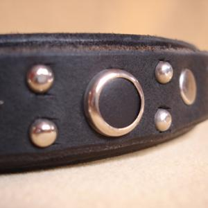 Tonka Deluxe Leather Collar