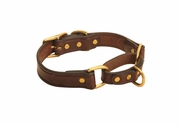 Tory Leather Martingale Correction Collar