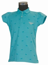 Tuff Rider Madelyn Polo Shirt for Girls