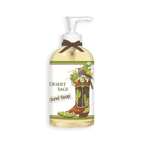 Western Boot Hand Soap wtih pump