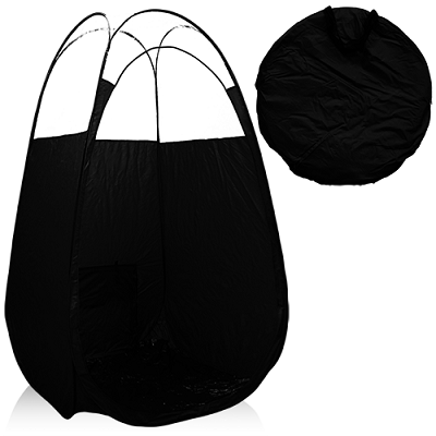 Black Pop Up Tanning Tent With Clear Sewn in Top  sc 1 st  The Vanity Girl and The Sunless Store & Tanning Essentials Black Tanning Tent