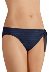 Amoena Andros Panty Swimsuit Bottom 71035 - Navy and Gold