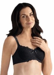 Amoena Marie Soft Cup Pocketed Bra 1275 - Black