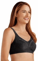 Amoena Nora Soft Cup Pocketed Bra 2557N - Black