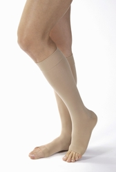 Jobst Opaque Knee High Petite Open Toe (15-20 mmHg)