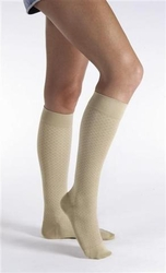 Jobst Women's Pattern Trouser Knee High Sock (15-20 mmHg)