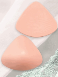 Jodee Lightweight Silicone Triangle Breast Form 24