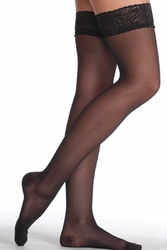 Juzo OTC 5000 AG Thigh-High Support Hose with Lace Silicone Border (12-16 mmHg)