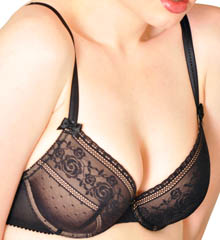 Le Mystere Pin-up Lace T-Shirt Underwire Bra, Style 9786