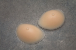 Nearly Me Just Enough Standard Silicone Oval Enhancers, With Nipples