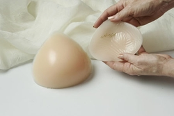 Nearly Me So-Soft Triangle Equalizer Symmetrical Silicone Breast Partial Form #250