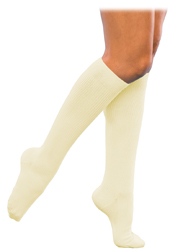Sigvaris 146 Casual Cotton Knee High Socks for Women Closed Toe (15-20mmHg)
