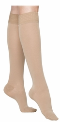 SIGVARIS 860 Select Comfort Knee High for Women, Closed Toe w/ Grip Top (30-40 mmHg)