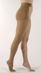 SIGVARIS 860 Select Comfort Thigh High, Open Toe w/ Waist Attachment (20-30 mmHg)