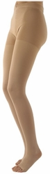 Sigvaris 970 Access Pantyhose (Open Toe) (20-30mmHg)