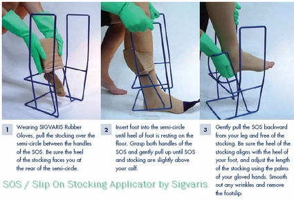 SIGVARIS SOS-Slip-On Donning Aid