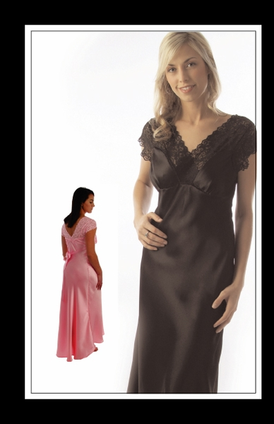 Wear Ease Lexie Post-Pocketed Nightgown