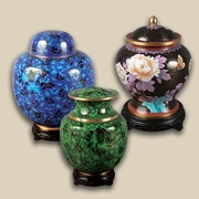 urns for human ashes in people's homes