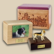 buying the pet urns for cats or dogs