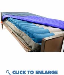 Bariatric True Low Air Loss Mattress and Pump System 42