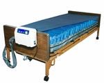 Medical Air Bariatric Alternating Pressure and Low Air Loss Mattress System  APL (Heals stages 1-4)