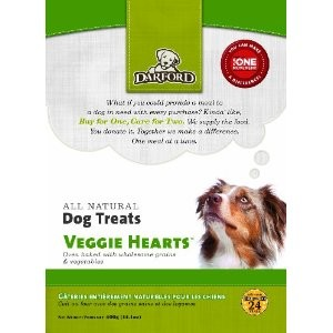 Darford Darford Naturals Veggie Hearts, 14 Oz Each