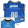 Detroit Lions NFL Dog Jersey - Extra Small