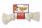 Mammoth Pet Products 100% Cotton White Rope Bone Mini 6in