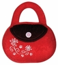 Dogit Luvz Dog Toys, Red/Brown Bag w/flowers, From Hagen