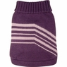 Dogit Style Striped Sweater, Purple, Small, From Hagen
