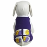 Dogit Style Tank Top, Purple with Snail design, Large, From Hagen