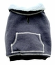 Dogit Sweater with fleece lining, grey, medium, From Hagen