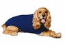 Fashion Pet Classic Cable Dog Sweater, Cobalt Blue, X-Small