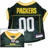 Green Bay Packers NFL Dog Jersey - Extra Small
