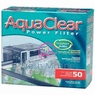 Hagen Aqua Clear 50 Hang-On-Back Power Filter, 200 GPH, UL Listed