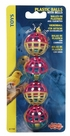 Living World 4 Plastic Balls w/Bells, From Hagen