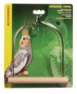 Living World Cockatiel Swing w/Wooden Perch, From Hagen