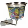 Living World Stainless Steel Parrot Cup, Small, From Hagen