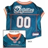 Miami Dolphins NFL Dog Jersey - Large