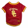 Mirage Pet Products Sports Dog Apparel USC Trojans Pet Jersey Costume Outfit XS