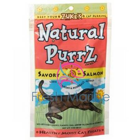 Natural Purrz Salmon for Cats, 3 oz, From Zuke's
