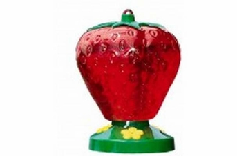 Perky-Pet Strawberry Hummingbird Feeder 48oz