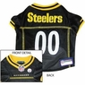 Pittsburgh Steelers NFL Dog Jersey - Small