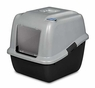 Precision Pet Dazzle Litter Box System with ODO GARD for All of Your Litter Box Needs, Jumbo, Silver and Black