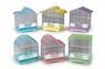 Prevue Pet Products Pre-Packed Small Pastel Cages 6pc