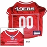 San Francisco 49ers NFL Dog Jersey - Small
